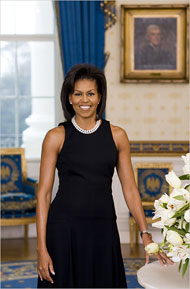 Michelle-Obama First Lady Official Portrait
