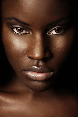 Black-Woman with brown eyes 4