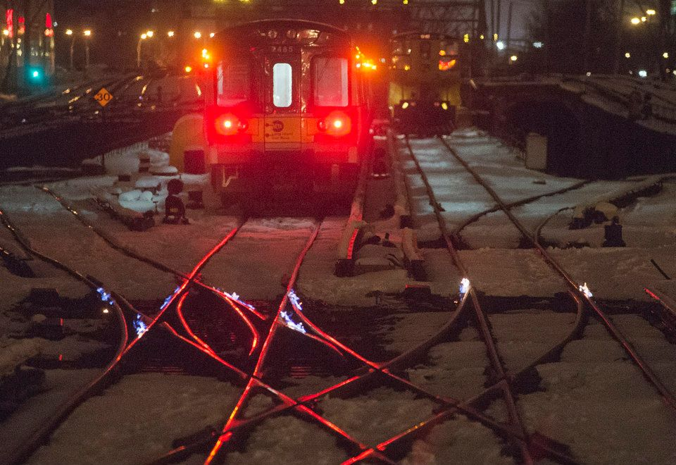 The Long Island Railroad S Answer To Frozen Rails Is Fire