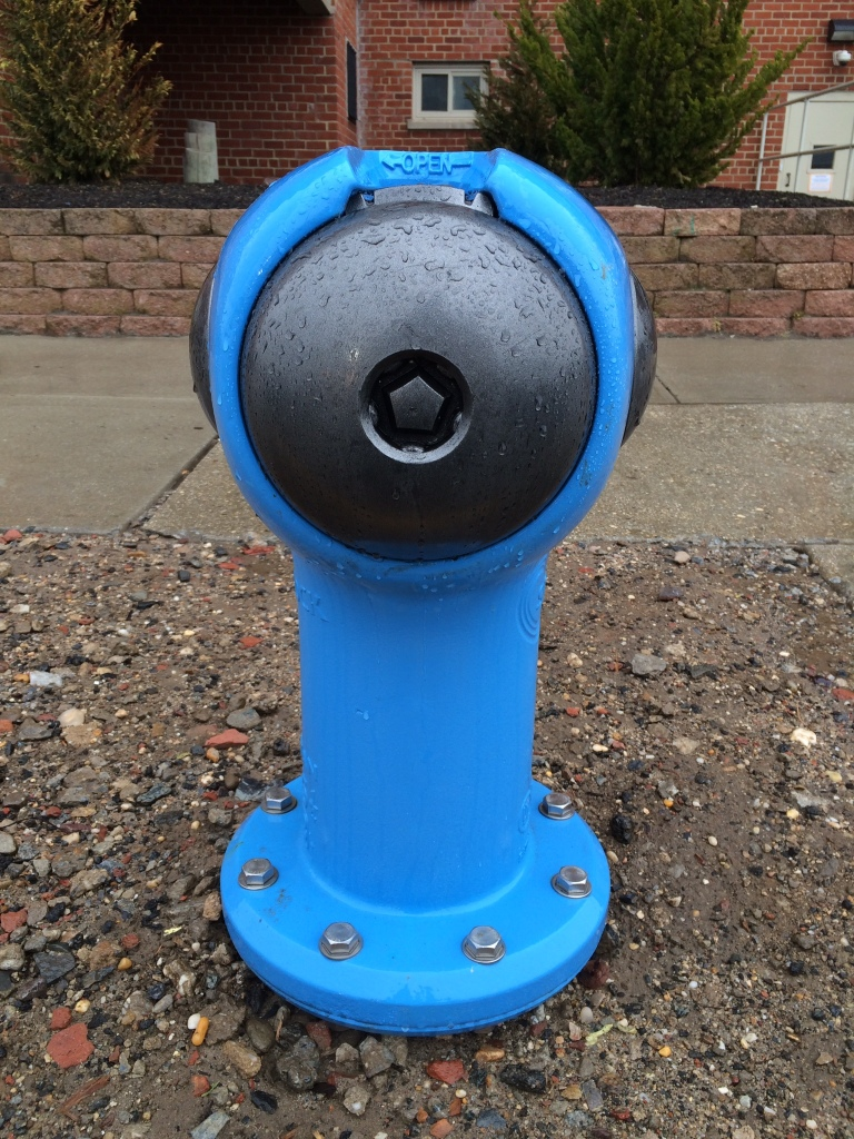 Fire Hydrant Gets A Makeover