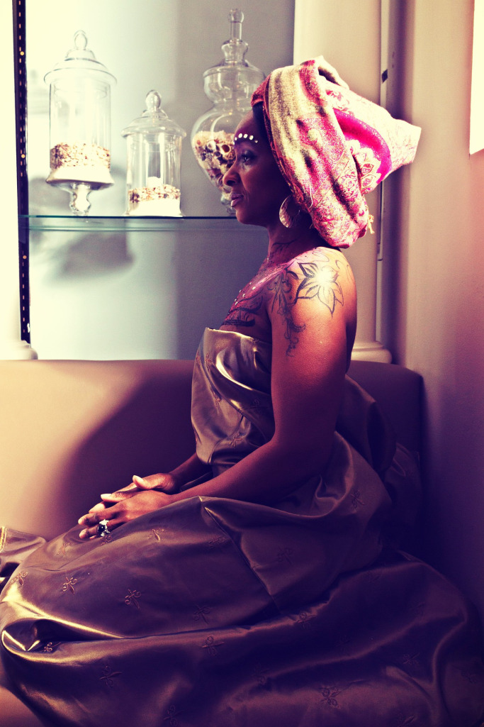African Queen model