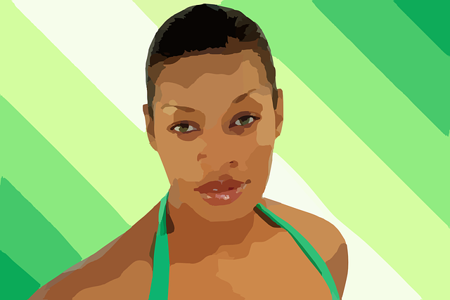 Black woman carracture-295044_640