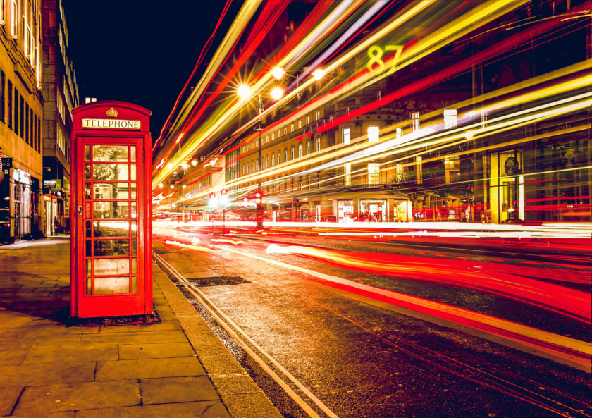 pexels-photo LongExpsure Phone Booth