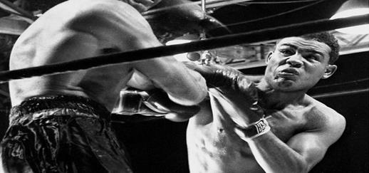 Back When Boxing was a sport in monochrome