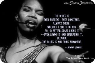 Juwana Jenkins on The Blues